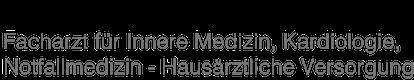 Dr. med. Ingo Scheunemann, Internist, München Logo
